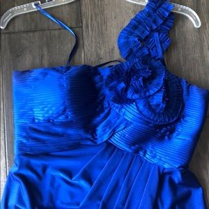 One shoulder Adrianna Papell dress